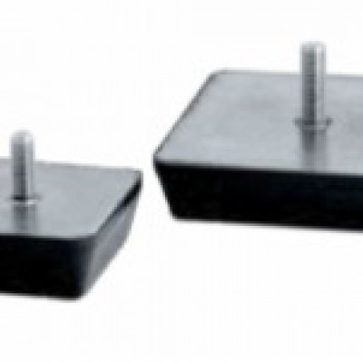 Square anti-vibration mount